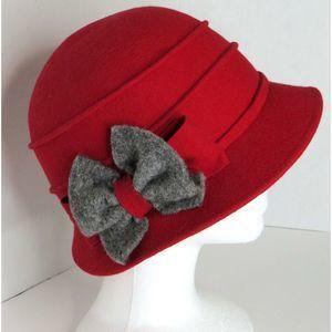 Galliano Sorbatti Italy Felt Wool Bucket Hat